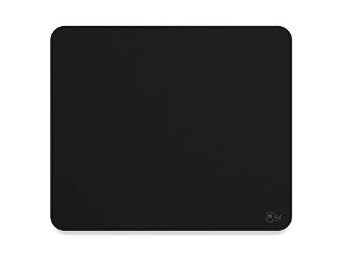 Glorious Large Gaming Mouse Mat/Pad - Stealth Edition - Stitched Edges, Black Cloth Mousepad | 11'x13' (G-L-Stealth)