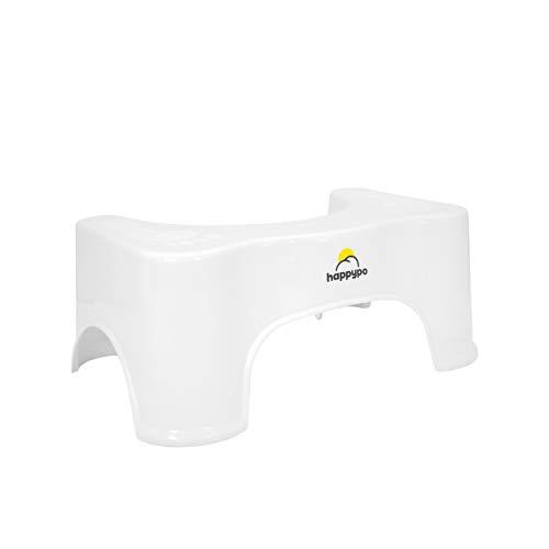 HappyPo Toilettenhocker | Bei Hämorrhoiden, Verstopfung, Reizdarm, Blähungen, Blähbauch –...