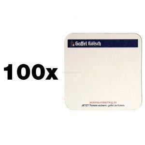 Gaffel Kölsch Bierdeckel/Untersetzer - 100 Stück