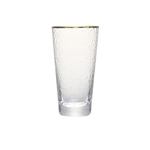 Yuanyuan Conjunto De 2 9oz 11oz Hecho A Mano Plomo Soplado De Vidrio Libre De Vidrio De Vidrio Mezclado De Vidrio De Vidrio para Jugo De Whisky Tumblers De Agua (Color : 330ml Set of 2PCS)