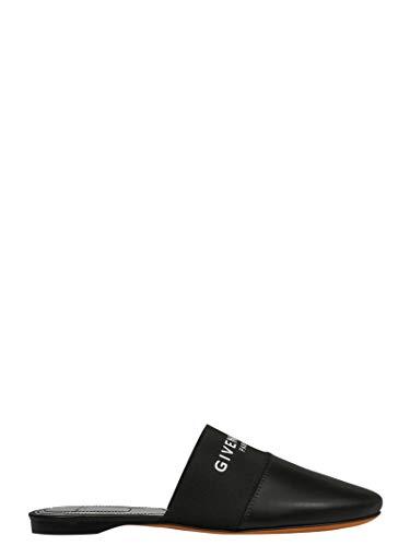 Givenchy Luxury Fashion Damen BE2002E01H001 Schwarz Leder Mokassins | Jahreszeit Permanent