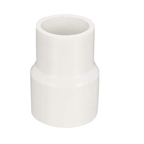 DealMux Buje de acoplamiento reductor de PVC de 25 mm x 20 mm por conector adaptador de montaje de tubería Hub 5 piezas