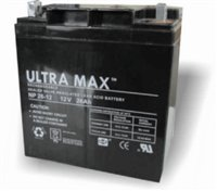 Ultramax CSB GP 12260 (GP12260) Replacement Rechargeable Lead Acid Battery 12V 26Ah