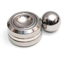 DoDoMagxanadu Orbiter Fidget Toy Magnetic Orbit Ball Toy ADHD Focus Anxiety Relief Anti Depression Toy (Silver)
