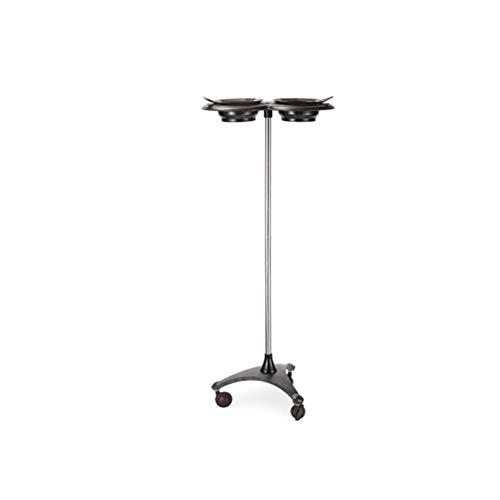 Chariot de roulement de salon de coiffeur,support d'outil utilitaire de support de colorant de support de colorant de cheveux de colorant,plateau multi-fonction,Black