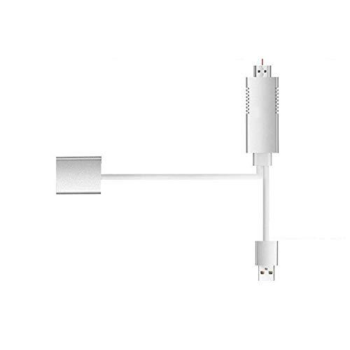 Espejo Smart Cable HDTV AV Teléfono a TV Adaptador para Samsung iPhone iPad