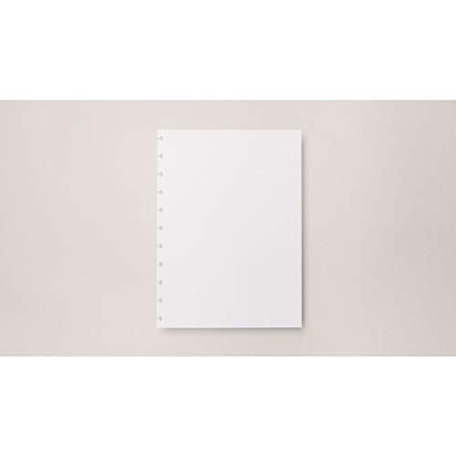 Refil de Folhas Para Caderno Inteligente, 24553, Grande, Pontilhado, 215x280 mm, 120 Gramas, 30 Folhas