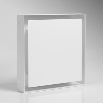 """Design-Ventil, Quadratisches Lüftungsventil Typ\""""EinsP\"""", DN 125; Zuluftventil; Abluftventil"""