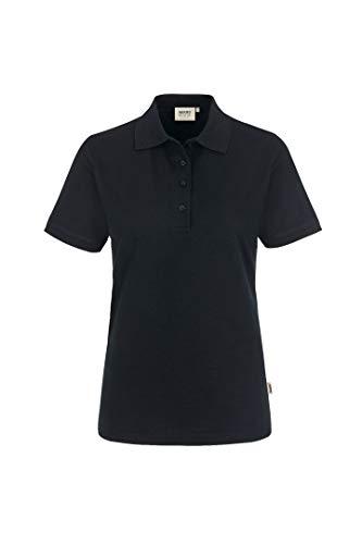 HAKRO Damen Polo-Shirt Performance - 216 - schwarz - Größe: M
