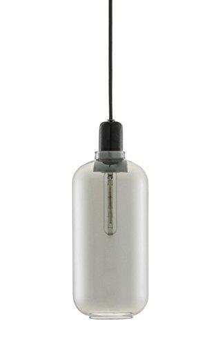 Normann Copenhagen Amp Deckenlampe, Marmor, schwarz, 26x11,2cm