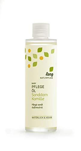 Lenz Naturpflege Baby Pflegeöl Sanddorn Kamille - 200 ml