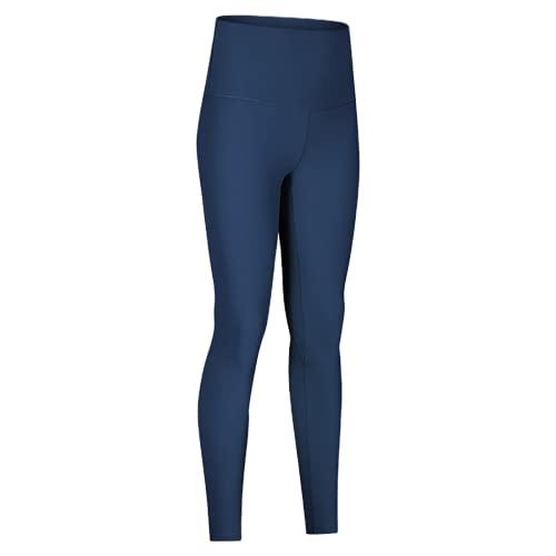 QTJY Pantalones de Yoga de Cintura Alta para Mujer, Leggings, Pantalones de Fitness al Aire Libre, Pantalones Deportivos de Secado rápido elásticos, Pantalones de Yoga CL