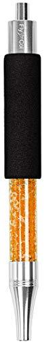 FlyCol Ice Mundstück | Ice Bazooka 2.1 New Version | Hochwertiges Mundstück zum kühlen | Mundstück und Kühlpad in einem | Premisum Shisha Zubehör EIS Schlauch Eisschlauch (Orange)