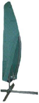 Kronenburg Schutzhülle Ampelschirm Abdeckhaube, Grün, bis 500 cm Durchmesser- Abdeckung für Gartenmöbel - weitere Schutzhüllen wählbar