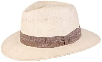 Wigens Fedora Country Hat Constructed in Italy- Natural