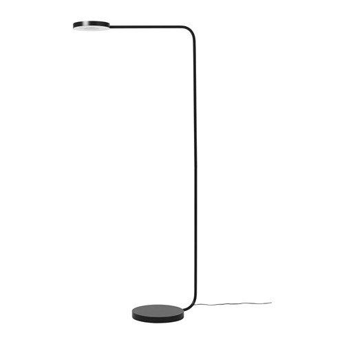 IKEA YPPERLIG Standleuchte LED dimmbar dunkelgrau