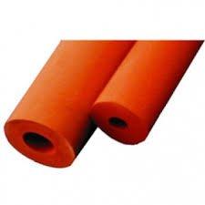 Vakuumschlauch, rot, Abm.: 5 mm Innen-Ø x 5 mm Wandstärke (15 mm AD), Rollenlänge: 5 mtr.