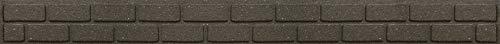 ECO GARDEN Ultra Curve Bricks Recycled Garden Border Edging, Earth