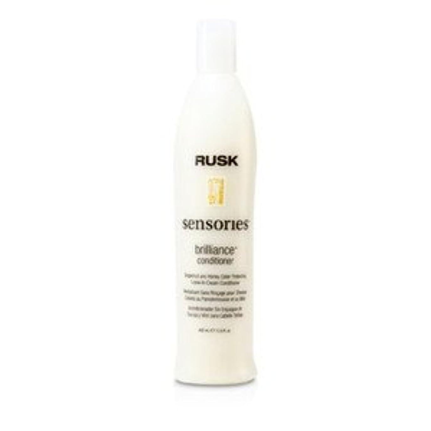 要件番目一緒RUSK(ラスク) センソリーズ ブリリアンス グレープフルーツ&ハニー カラー プロテクト 洗い流さないコンディショナー 400ml/13.5oz [並行輸入品]