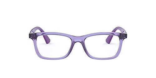 Ray-Ban 0Ry1562, Monturas de Gafas Unisex-Niños, Marrón (Transparente Violet), 48