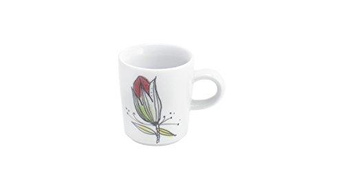 Kahla Five Senses Wonderland - Taza de café (0,09 L), diseño de Wonderland