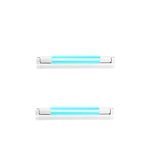 Lámpara Germicida Ultravioleta De 10 W, Esterilizador De Ozono Ultravioleta, Utilizado En Armario, Cocina, Baño, Ático, Sala De Mascotas, Granja, Matar Bacterias, Desodorizar(2 PCS)