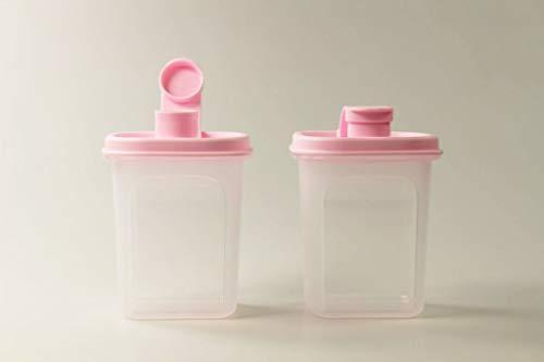 Tupperware Slim Line Jarra 350 ml (2) Botella Rosa 37682