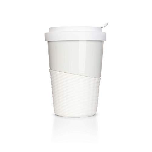 Mahlwerck Wave Kaffee-Becher to go, Porzellan Coffee to go B