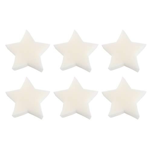 Yardwe 6Pcs Creamy Öl Absorbieren Abschaum Schwamm Sterne Form Sauber Zubehör Entferner Schwimm Schwämme für Schwimmen Pool Und Spa
