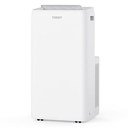 TOSOT Portable Air Conditioner 12,000 BTU - Aolis Series - AC Unit with Swing Function, Remote Control, 3-in-1, Fan, and Dehumidifier for Large Rooms, Living Rooms Up To 450 sq ft