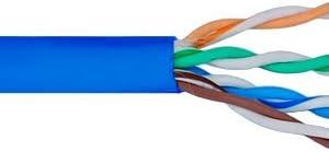 ICC ICCABR6VBL ABR6VBL CMR Max 82% OFF CAT6 MHZ Popular products 500 Spline UTP NO
