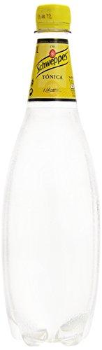 Schweppes - Agua Tnica, Botella 1 L - [Pack de 6]