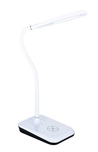 Reality Leuchten inductif Lampe de table LED Avec Fonction De Charge Pour Smartphone avec Touch, 38 cm, 5 W, 4 niveaux Blanc r59019901