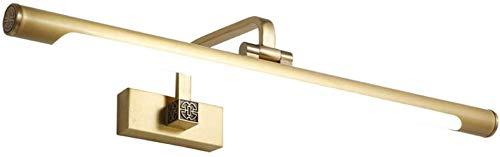 Carl Artbay Shuai Beautiful Lamp * LED, badkamermeubel met spiegel, licht dressing tafel verlichting (grootte: warm wit licht 44 cm)
