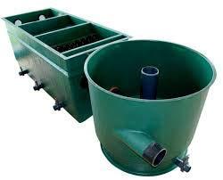 Tripond Reihen-Vortex Komplettpaket inkl. Deckel & Füllpaket/Die Neue Generation GFK-Teichfilter für bis zu 100 m³ Teichvolumen (3-Kammer Vortex)
