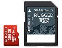 ProMaster Professional 256GB microSDXC V30 丈夫なメモリーカード