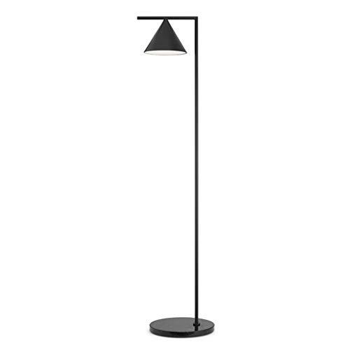 AILI Pieds de Lampes Lampadaire Simple De Salon, Lampe De Table De Salon en Métal Noir Luminaires intérieur Pieds de Lampes (Color : Black)