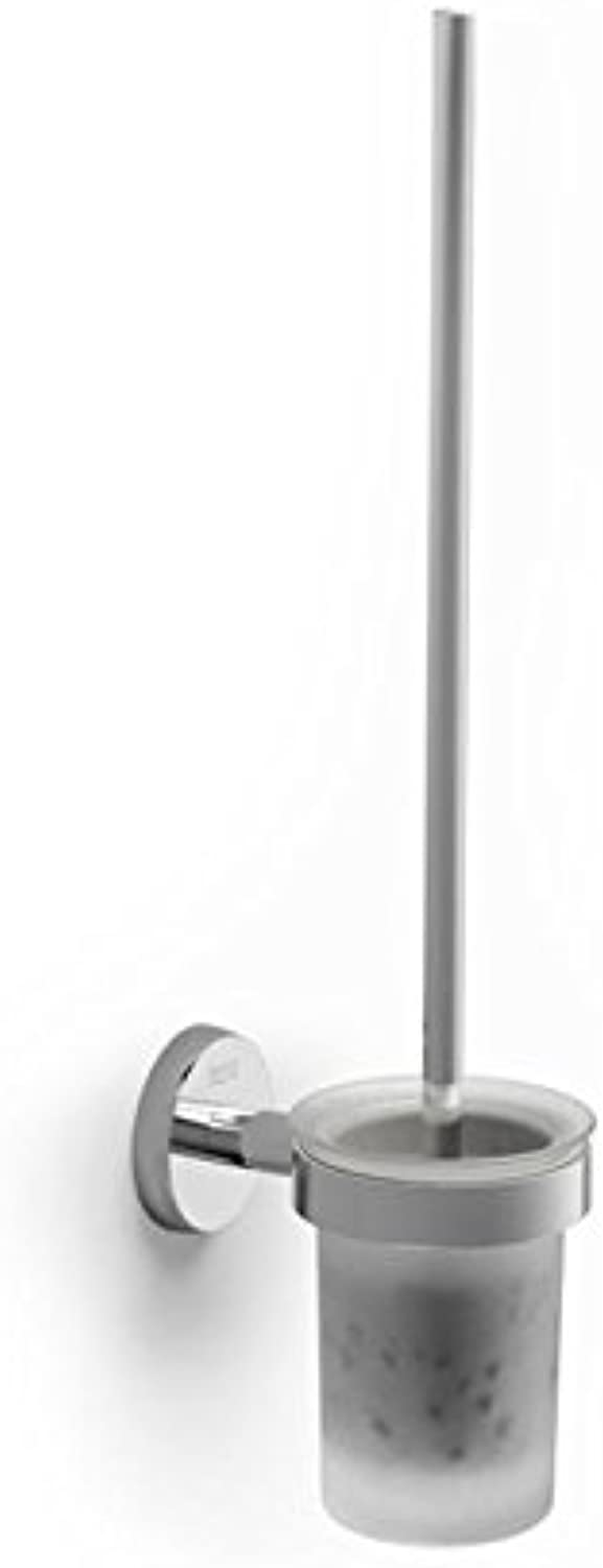 Rock Twin A816715001?Toilet Brush Wall-Mounted Chrome