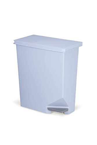 新輝合成 ペダル式ゴミ箱 ユニード ごみ箱 縦横 スイッチ ペダル ペール ブルー 35L
