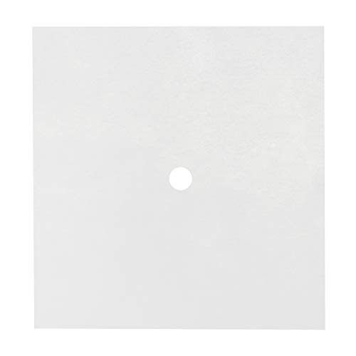 Royal Paper Filter Envelopes with 7/8 Inch Double Sided Hole, 14 Inch x 15 Inch, Package of 100
