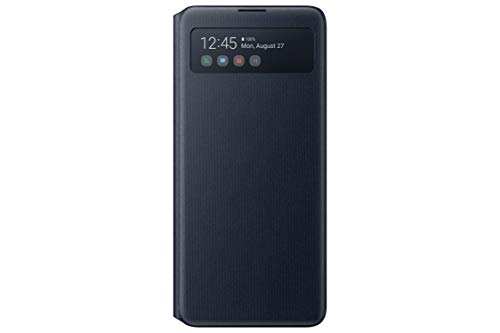 Samsung Lite S - View Wallet Cover para Galaxy Note 10 Lite, Negro