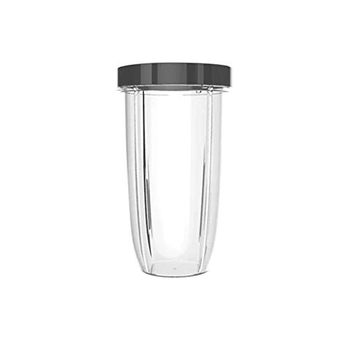 Clear//Gray NutriBullet NBM-U0270 24 Ounce Tall Cup with Standard Lip Ring
