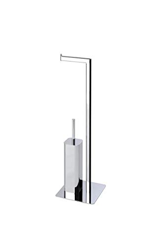 Aquasanit - Piantana WC in Metallo Cromato - QV086DCR