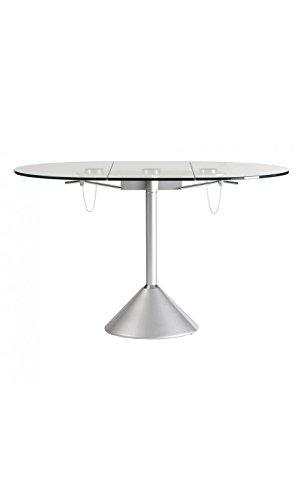 CAMINO A CASA - Table à Manger Design Plateau Ovale rétractable Draco
