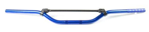 TRW Lucas MCL154B 22 mm aluminium stuur Moto Cross, middelhoog, blauw