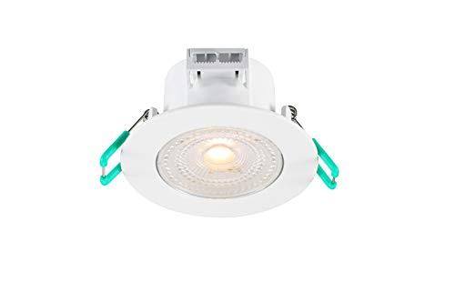 Foco LED empotrable – Foco LED – Foco empotrable LED – Foco LED interior empotrable – LED foco empotrable – Foco LED empotrable – Foco regulable 420 lm IP44, 3000 K