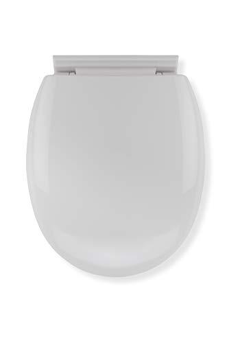 Croydex WL400022H Anti-Bacterial Toilet Seat, White