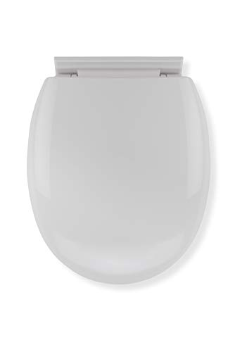 Croydex Anti-Bacterial Toilet Seat with Soft Close Hinges...