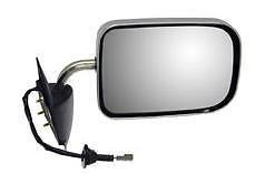94 95 96 97 Dodge Ram Truck 1500 2500 3500 Passenger Door Mirror Power Chrome NEW 55076612 CH1321132