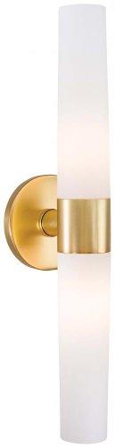 George Kovacs P5042-248, Saber, 2 Light Bath Fixture, Honey Gold